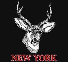 Dan Smith Stag jumper Design Transparent Black Unisex T-Shirt