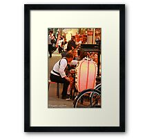 Tokyo Neighborhood Framed Print