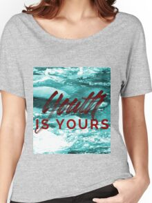 Youth is yours - River Women's Relaxed Fit T-Shirt