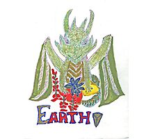 """Earth Dragon"" Photographic Print"