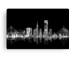 SAN FRANCISCO NIGHT Canvas Print