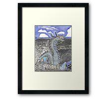 Water Dragon Framed Print