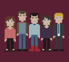 How I Met Your Mother Gang Pixel by Evelyn Gonzalez