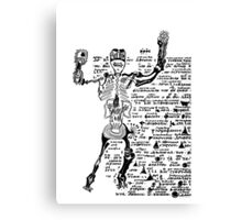 Cool Cortez (with text) Canvas Print