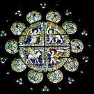 Welsh church-window by Arie Koene
