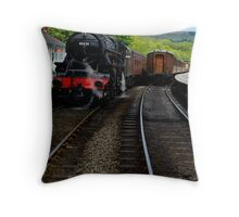 Grosmont, North Yorkshire Throw Pillow