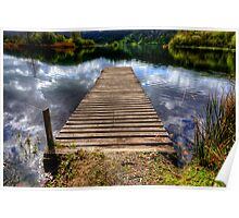 Grasmere Jetty Poster