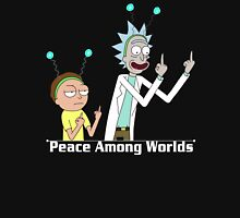 RICK AND MORTY SHIRT - PEACE AMONG WORLDS Unisex T-Shirt