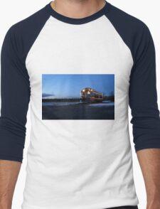 North Pole Express Men's Baseball ¾ T-Shirt