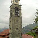 Church tower of Metsovo - Greece by Arie Koene
