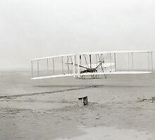 FIRST FLIGHT  1903 by Daniel-Hagerman