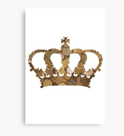 Penny Crown Canvas Print