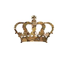 Penny Crown Photographic Print