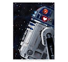 You R2 Cute Photographic Print