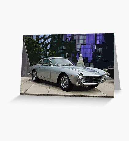 Silver Lusso Greeting Card