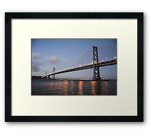 Bay Bridge, San Francisco Framed Print