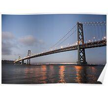 Bay Bridge, San Francisco Poster