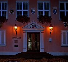 Rathaus (City hall) of Breisach - Germany by Arie Koene
