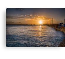 St Aubin's Bay Canvas Print