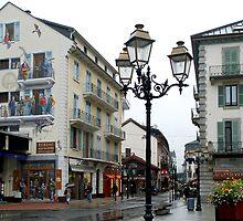 Mural decorations in Chamonix - France by Arie Koene