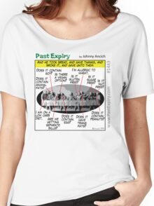 Cartoon : Allergic Jesus - Last Supper Women's Relaxed Fit T-Shirt