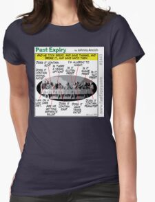Cartoon : Allergic Jesus - Last Supper Womens Fitted T-Shirt