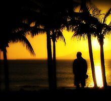 Lanzarote Sunset by Beverley Barrett