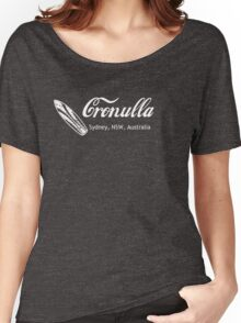 Surf Cronulla (white print) Women's Relaxed Fit T-Shirt