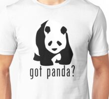 "Panda Bear ""got panda?"" T-Shirt or Hoodie Unisex T-Shirt"