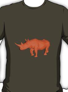 Rhino Low Poly T-Shirt