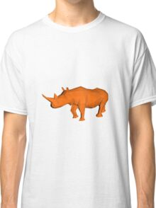 Rhino Low Poly Classic T-Shirt