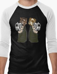 Lock, Stock and Two Smoking Barrels Men's Baseball ¾ T-Shirt