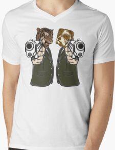 Lock, Stock and Two Smoking Barrels Mens V-Neck T-Shirt