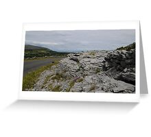 The Burren County Clare Ireland Greeting Card