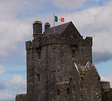 Dunguaire Castle - Kinvara County Galway Ireland by Sean  Carroll