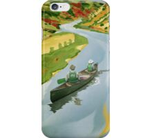 Phone case: Canoe O'Keeffe iPhone Case/Skin