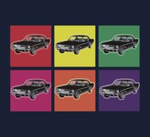 Warhol Mustangs T-Shirt