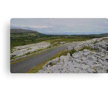 The Burren in County Clare Ireland Canvas Print