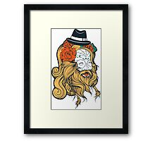 Cool Beard Framed Print