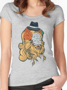 Cool Beard Women's Fitted Scoop T-Shirt
