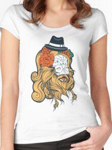 Cool Beard Women's Fitted Scoop T-Shirt