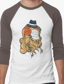 Cool Beard Men's Baseball ¾ T-Shirt