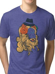 Cool Beard Tri-blend T-Shirt