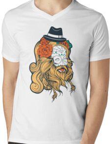 Cool Beard Mens V-Neck T-Shirt