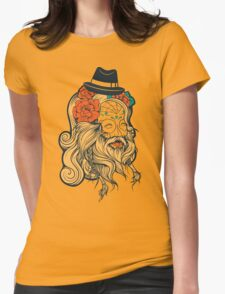 Cool Beard Womens Fitted T-Shirt