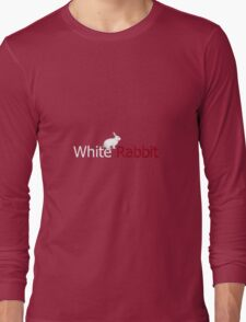 White Rabbit Low Poly Long Sleeve T-Shirt