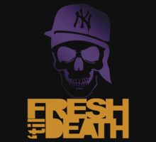 Fresh 'til Death - Purple by tumblingtshirts