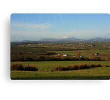 The Bluestacks From Fearn Hill Canvas Print