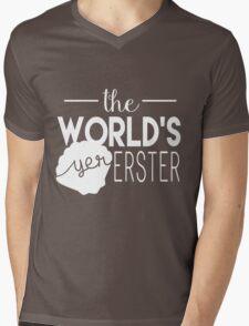 The World's Yer Erster Mens V-Neck T-Shirt