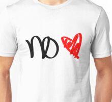 No Love - Black Unisex T-Shirt